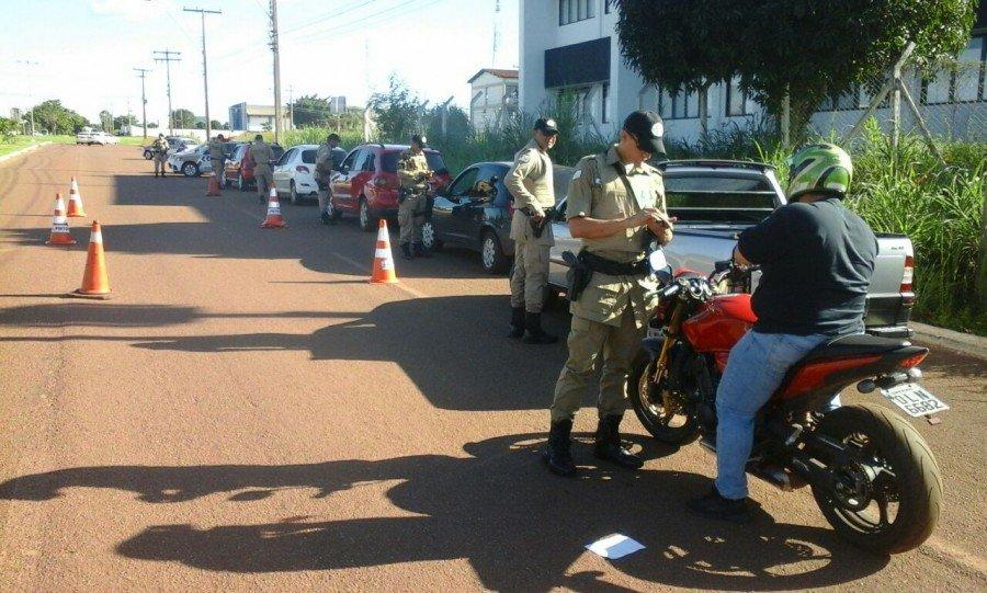 Operação Semana Santa em Gurupi (Foto: Divulgação PMTO)
