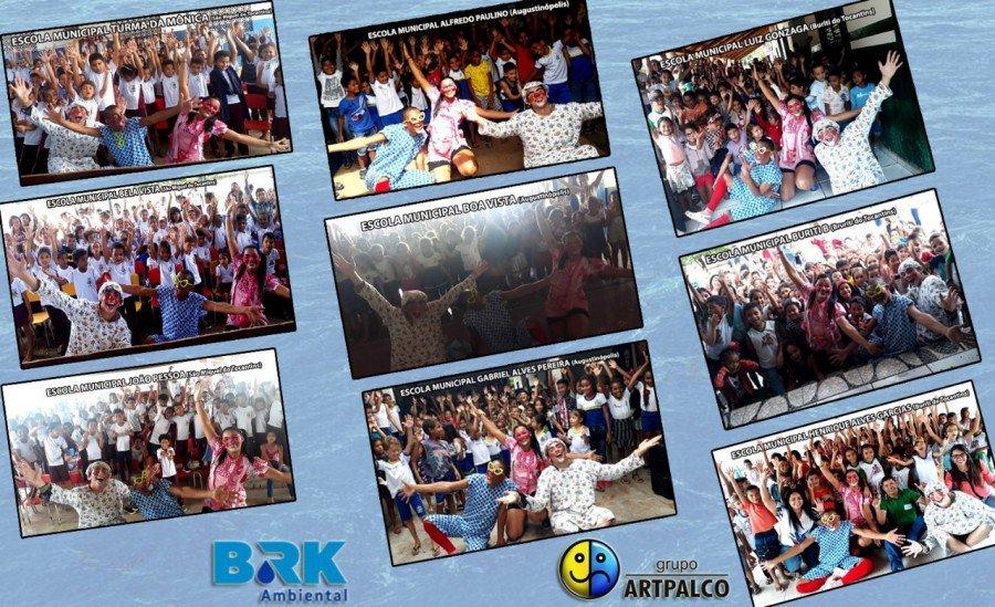 Grupo Artpalco circula por cidades do Bico do Papagaio com teatro sobre preservação ambiental