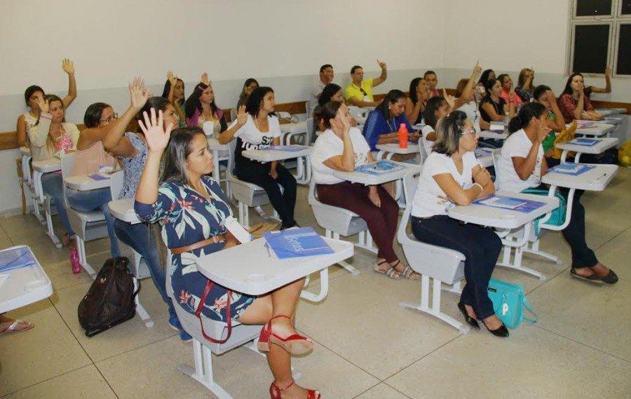 Supervisores e visitadores do Programa Criança Feliz (PCF) são capacitados (Foto: Leandro Pinheiro)