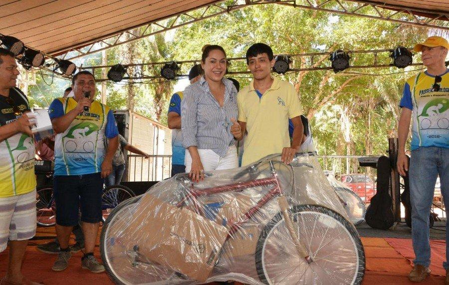 Luana destacou que o passeio de Ananás a Riachinho já é uma referência para o Estado do Tocantins (Foto: Koró Rocha)