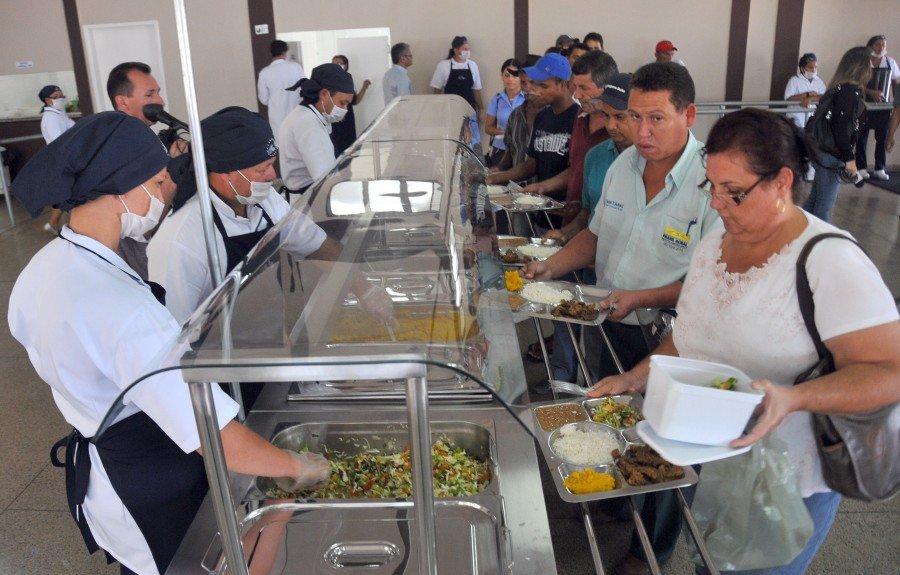 Restaurantes comunitários de Palmas passaram por reparos para melhor atender ao público (Foto: Júnior Suzuki)