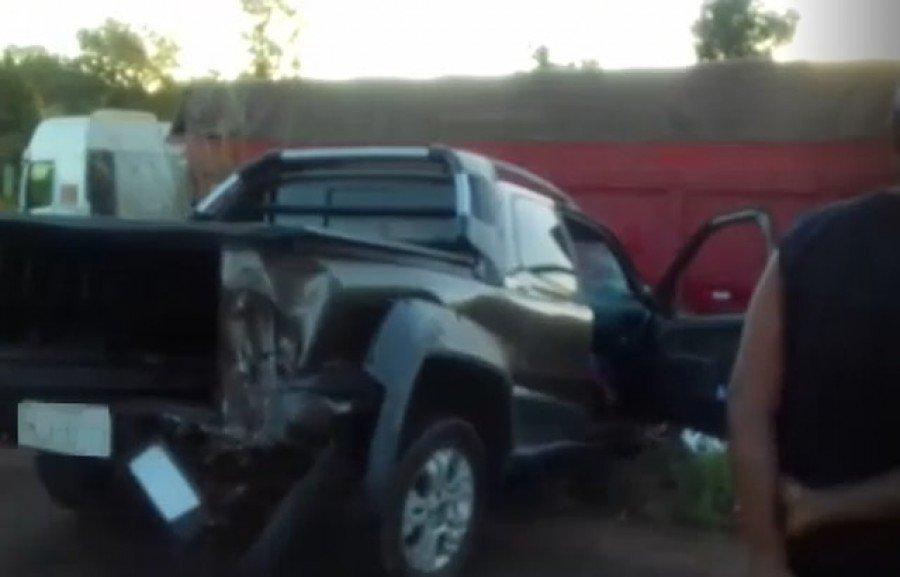 Acidente aconteceu na BR-153, próximo de Wanderlândia (Foto: Reprodução)