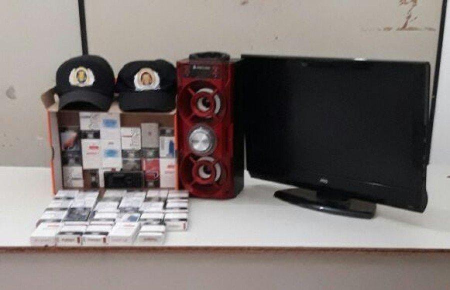 PM localiza objetos oriundos de furto em Tocantinópolis (Foto: Divulgação PMTO)