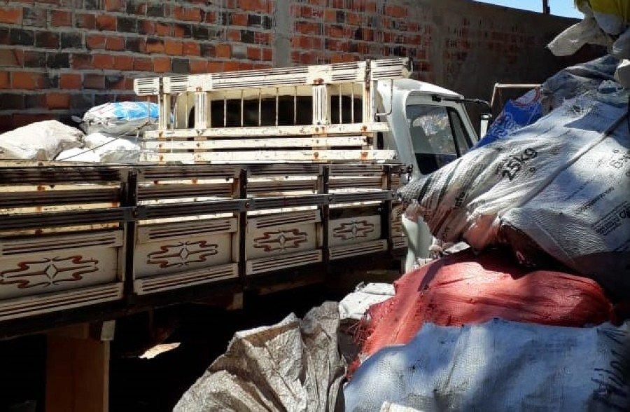 Polícia Civil recuperou carga de 25 toneladas de alumínio avaliada em R$ 300 mil após roubo em Araguaína