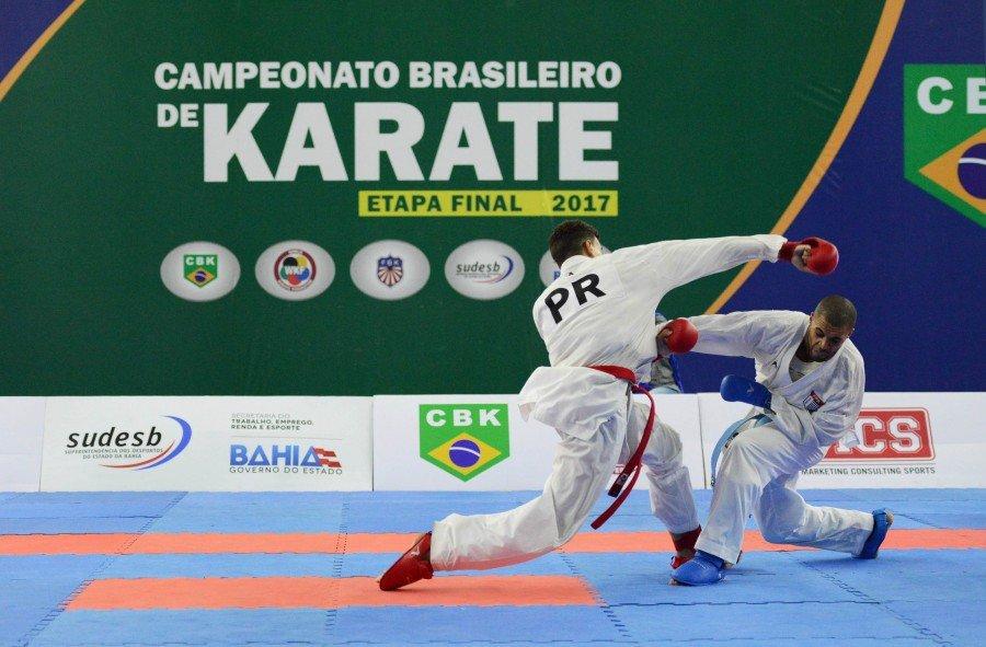 A competição levará quatro atletas à Seleção Brasileira Olímpica de Karatê