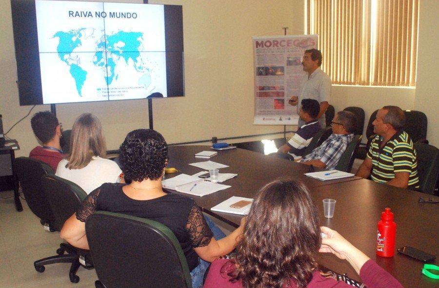 Adapec e Sesau discutiu ações de prevenção da raiva com representante dos territórios indígenas de Maurilândia, Tocantinópolis e mais 9 municípios do Tocantins (Foto: Delfino Miranda)