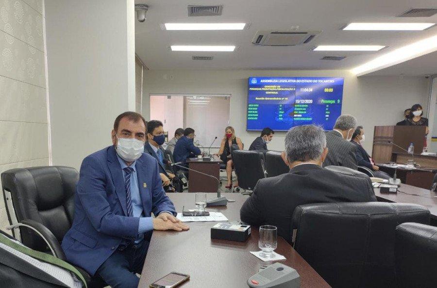 Deputado Issam Saado apresenta requerimentos para asfaltos em Ananás, Cachoeirinha e Esperantina durante sessão na Aleto