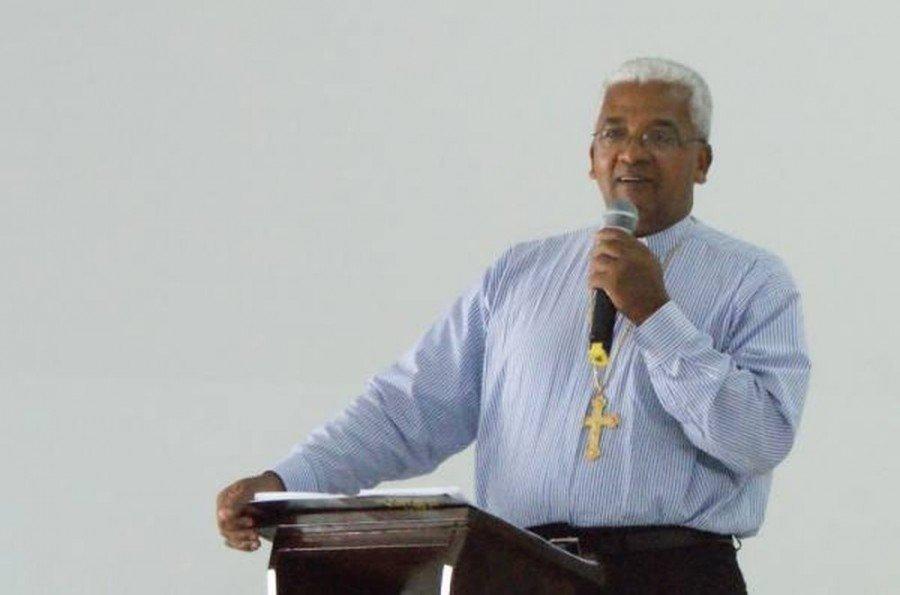 Dom Giovane é responsável pela diocese de Tocantinópolis (Foto: Divulgação/Igreja Católica)