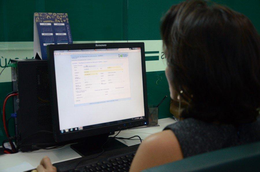 Inscrição Capacitação no SisPNCD (Foto: Valdo França)