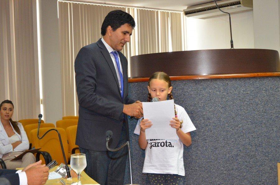 Júnior Geo elogiou e agradeceu o pronunciamento de Malu