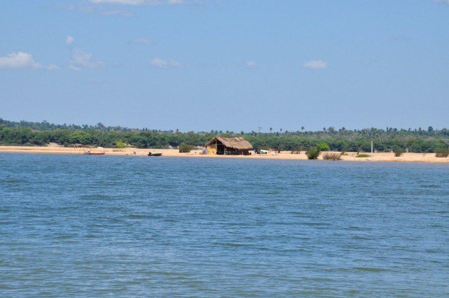 Povoado onde professor morava fica em Esperantina (Foto: Thiago Sá/Governo do Tocantins)