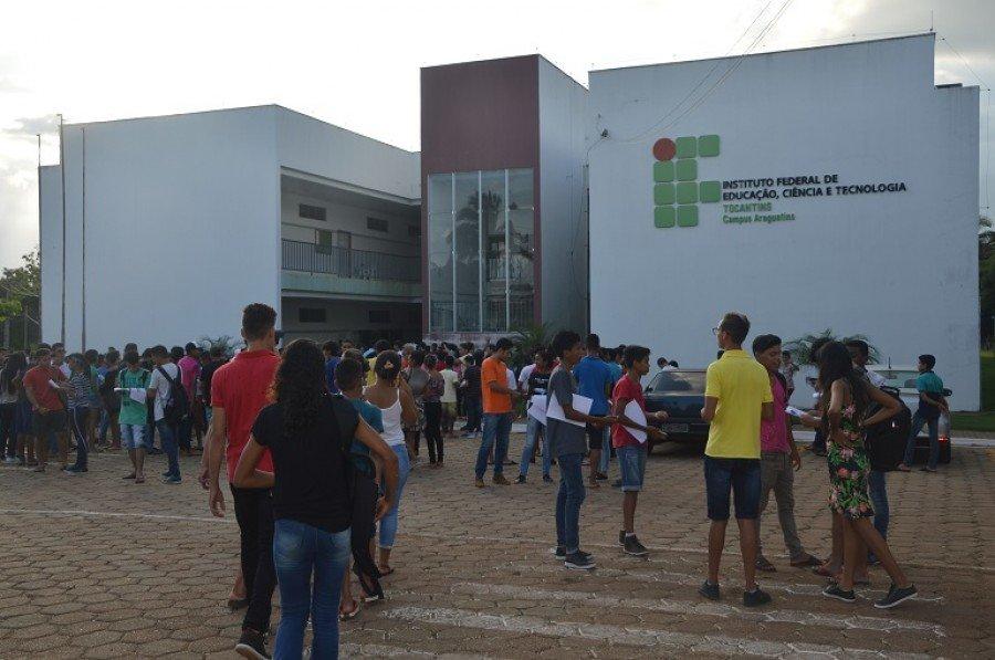 Seleção contou com mais de 800 inscritos no Campus Araguatins