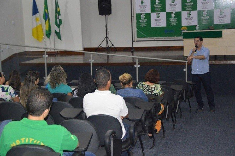 Visita teve como objetivo aproximar gestão do IFTO Campus Araguatins