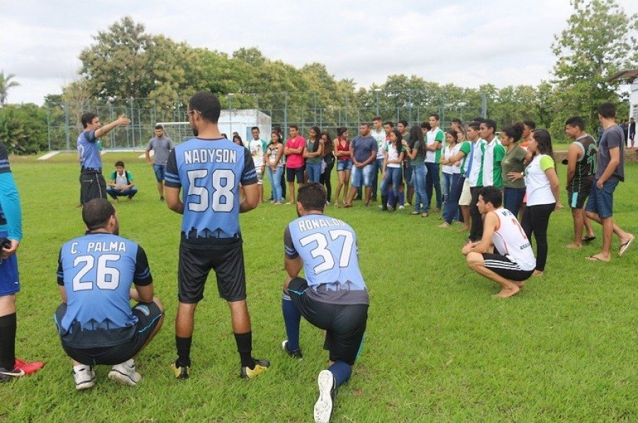 IFTO Campus Araguatins recebe equipe de futebol americano de Imperatriz-MA