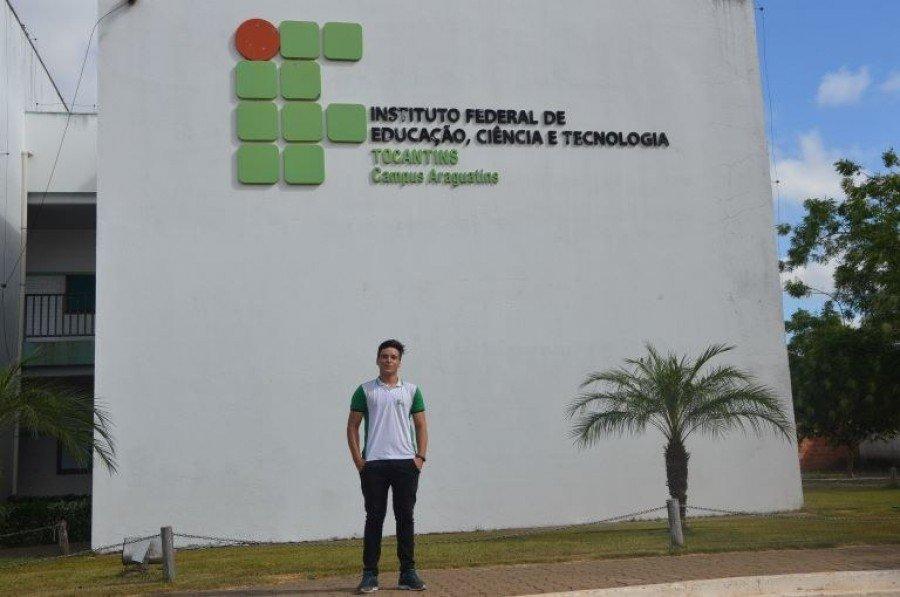 Representante do IFTO de Araguatins na OMIF