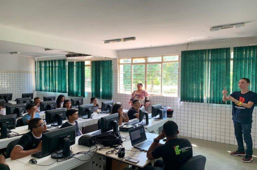 Ação faz parte de um projeto de extensão do IFTO de Araguatins