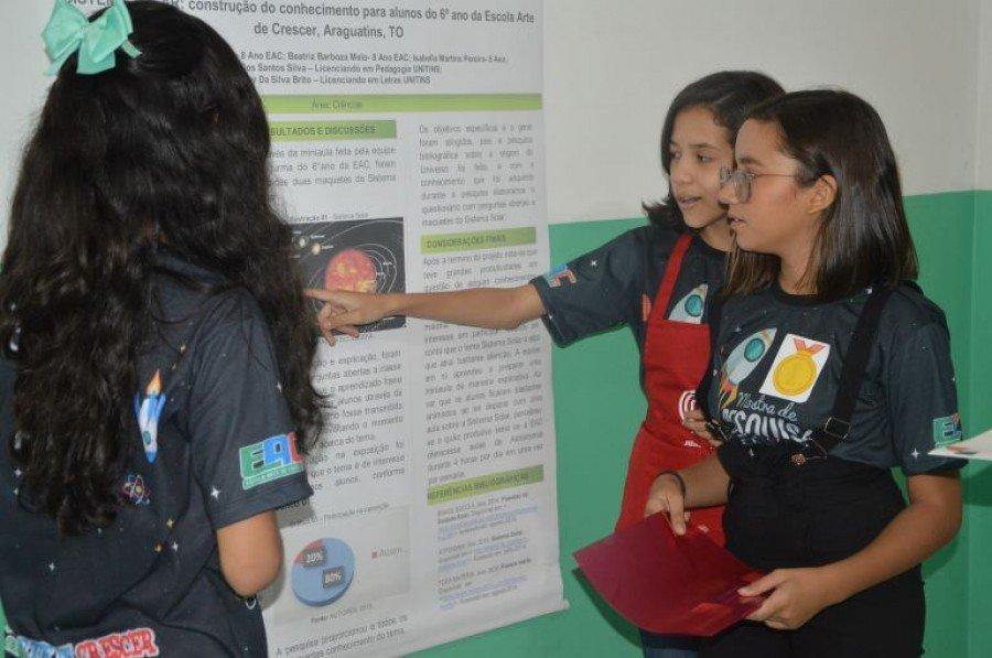 IV Mostra de Pesquisa Científica promovida pelo IFTO e Escola Arte de Crescer foi realizada com sucesso em Araguatins