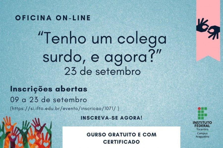 """Atividade fará parte do evento """"Setembro Azul: Educação, Cultura e Protagonismo"""""""