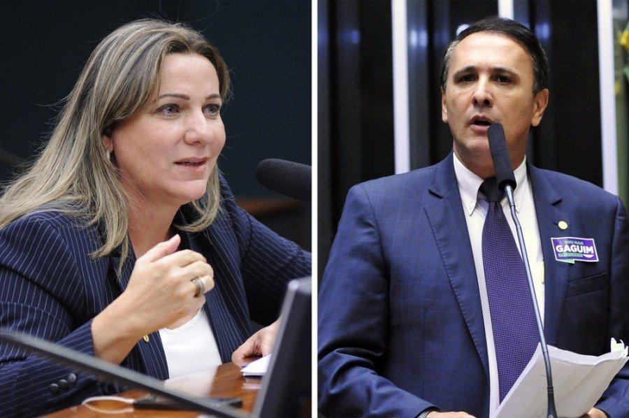 Os deputados Dulce Miranda e Carlos Gaguim são alvo de operação da PF
