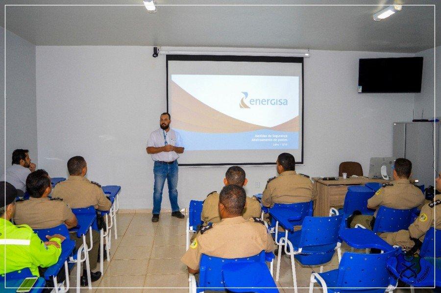 Energisa realiza palestra para militares do 1º BPM em Palmas