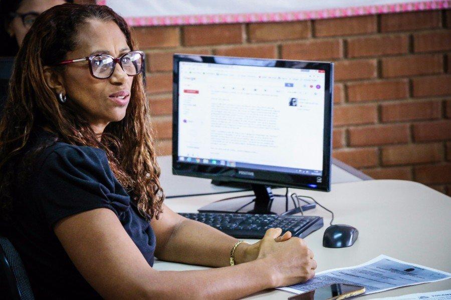 Gerente de programas de gestão do SUAS, Gildeth Evangelista (Foto: Carlessandro Souza)