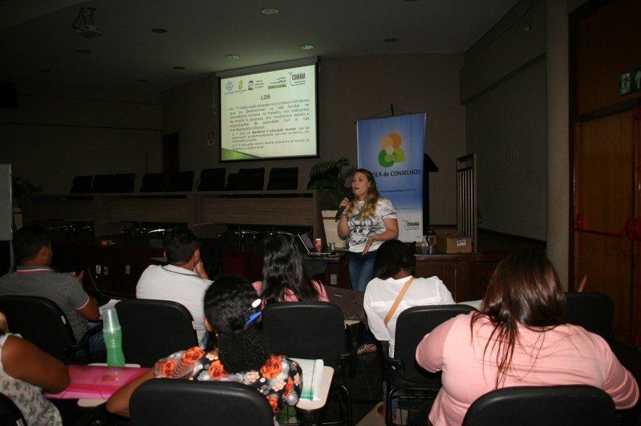 Escola de Conselhos inicia nova fase de formação de conselheiros (Foto: Marcos Antônio /Ascom Unitins)