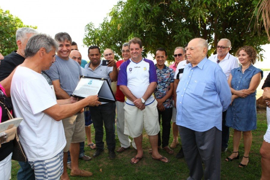 O encontro foi realizado na tarde deste sábado, 25, na Praia da Graciosa (Foto: Lia Mara)