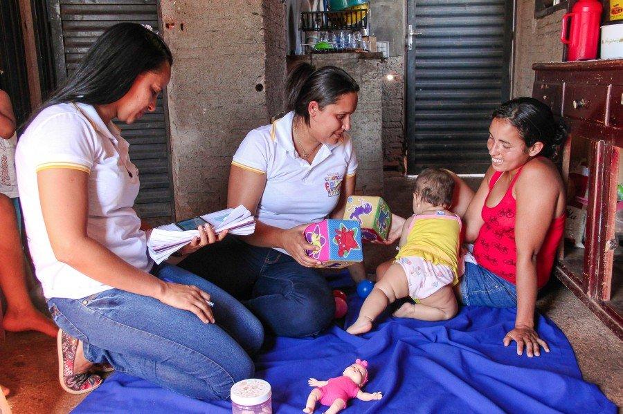 Programa atende crianças em casa até os seis anos de idade (Foto: Carlessandro Souza)