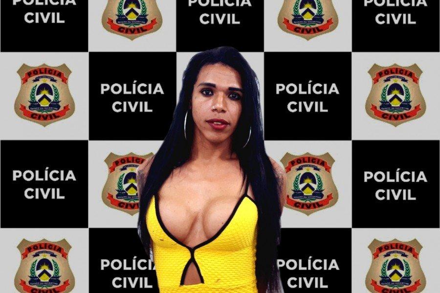 Polícia Civil do Tocantins prende no Maranhão travesti suspeita de homicídio em Araguaína