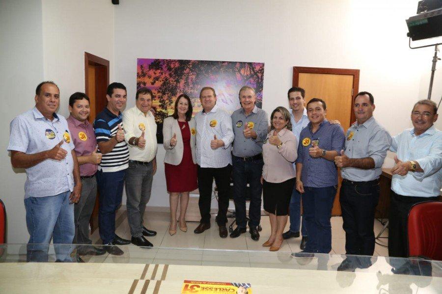 Campanha de Carlesse recebe apoio da prefeita de Guaraí e de mais oito vereadores
