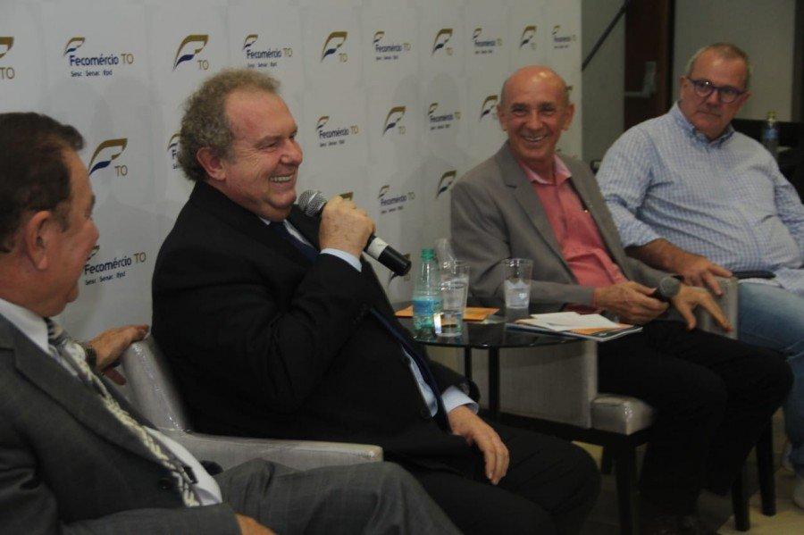 Em sabatina na Fecomércio, Carlesse diz que o Turismo pode ser o maior gerador de empregos nos municípios