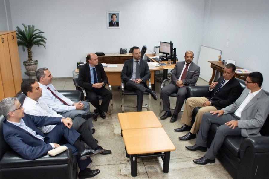 Secretário da Segurança recebeu promotores integrantes do GECEP
