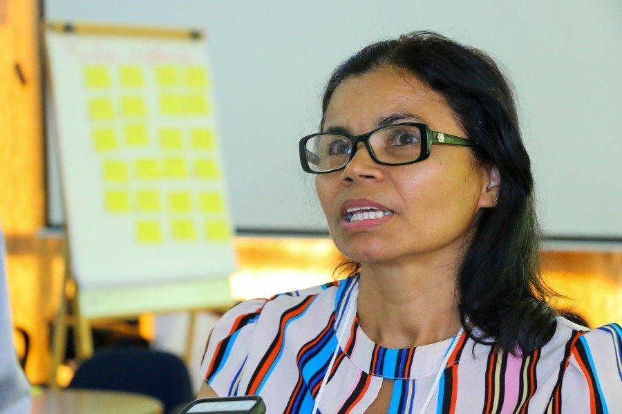 Eva Miranda, diretora de Proteção Básica de Ananás (Foto: Carlessandro Souza)