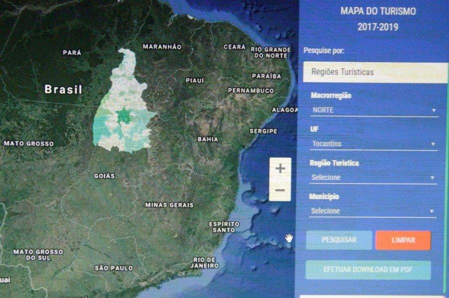 O Tocantins está presente no Mapa do Turismo com 40 municípios e quer aumentar esta participação