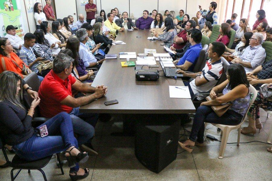 O objetivo da reunião foi pactuar o Plano Estadual de Economia Solidária (Foto: Carlessandro Souza)