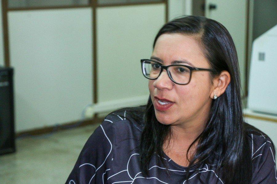 Prefeita de Palmeiras do Tocantins, Nalva Braga (Foto: Carlessandro Souza)