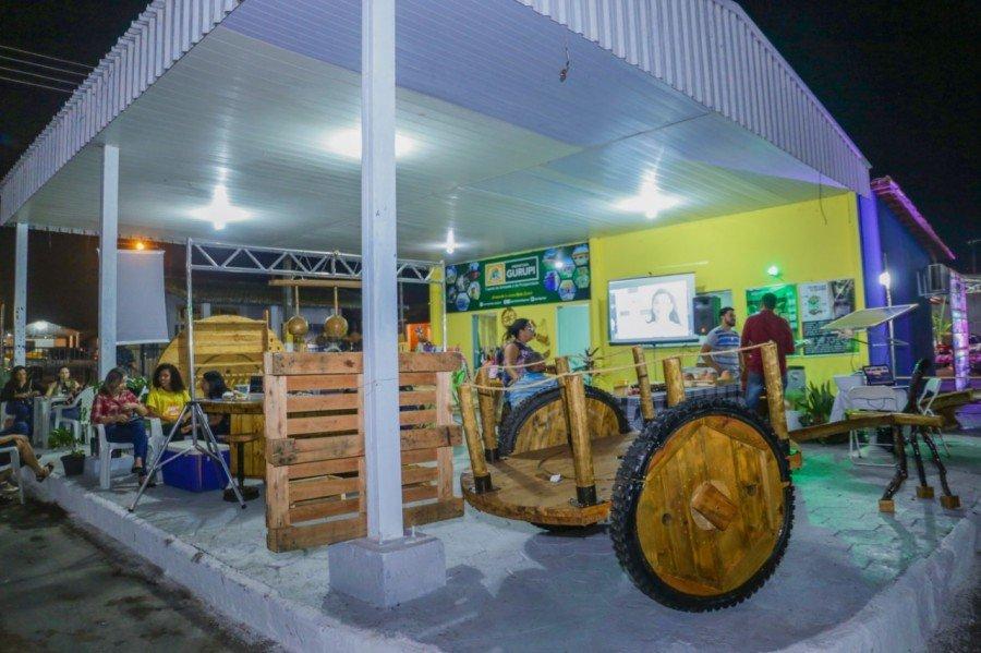 Estande da Prefeitura de Gurupi expõe projetos inovadores e sustentáveis durante 47ª Expo Gurupi