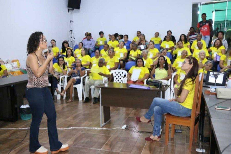 Conselheira estadual de Assistência Social, Maria de Lourdes Rodrigues dos Santos