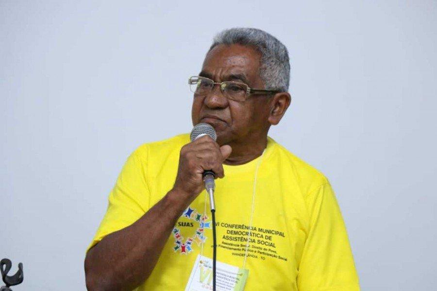Presidente do Conselho Municipal dos Idosos de Wanderlândia, Francisco das Chagas Garcia
