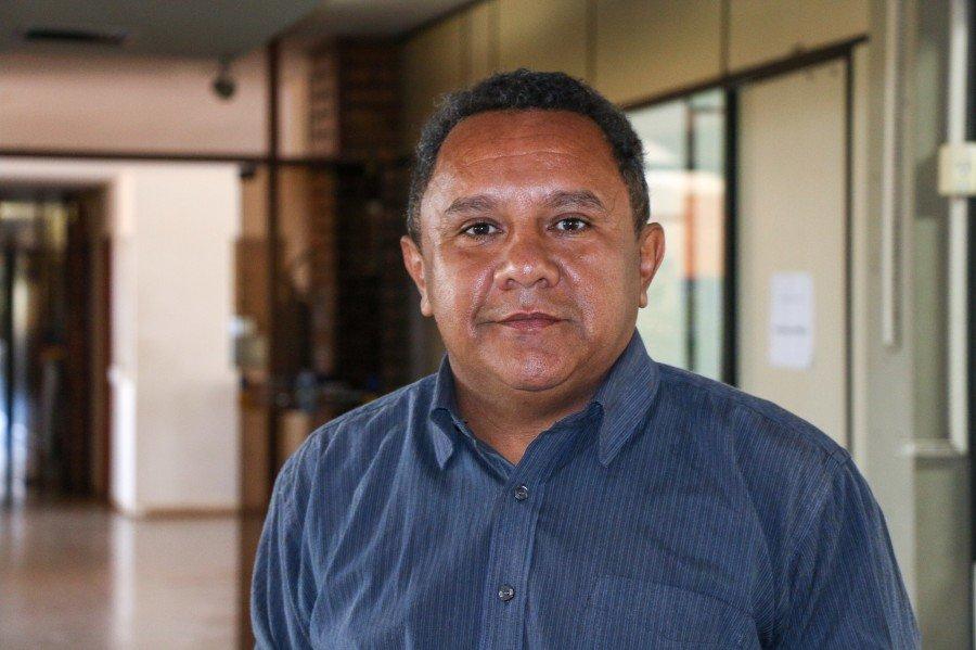 Gerente da Inclusão Produtiva, Raimundo Gonçalves (Foto: Carlessadro Souza)