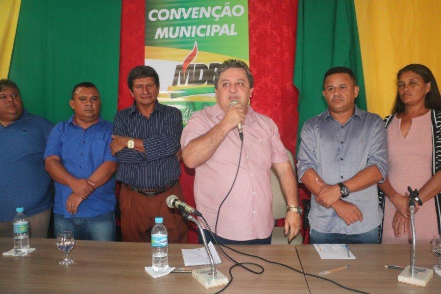 Deputado Jair Farias participou de maratona de reuniões políticas no Bico do Papagaio articulando candidaturas para as eleições de 2020
