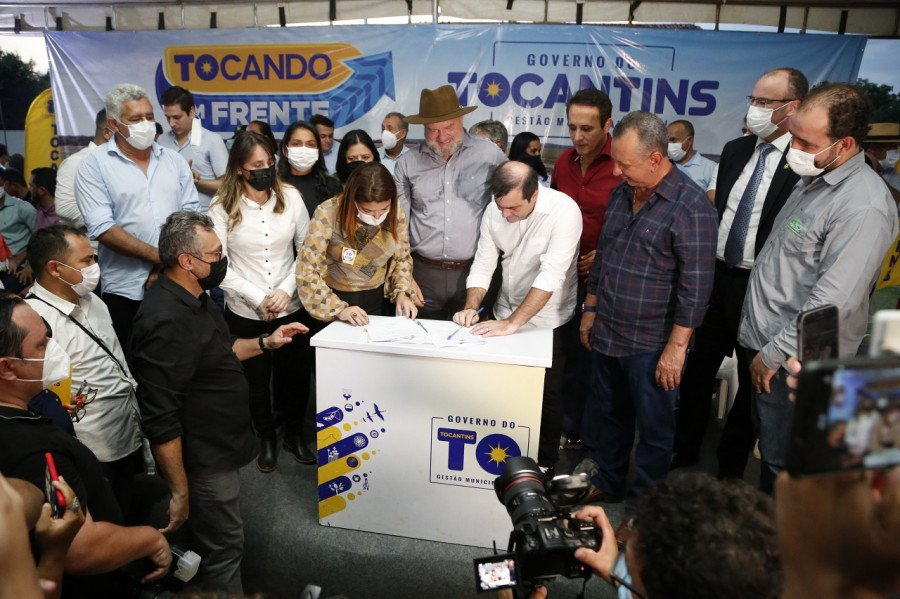 Na região sul, Aliança do Tocantins, Cariri, Gurupi e Sucupira farão os investimentos em equipamentos esportivos (Foto: Marcio Vieira)