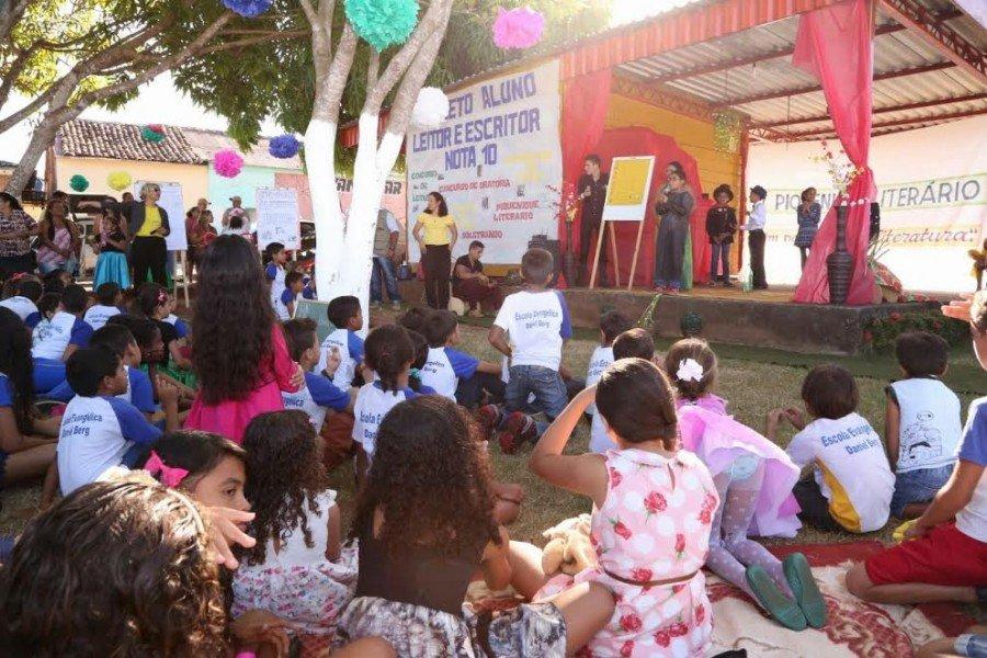 As apresentações foram realizadas na Praça dos Pioneiros em Araguatins
