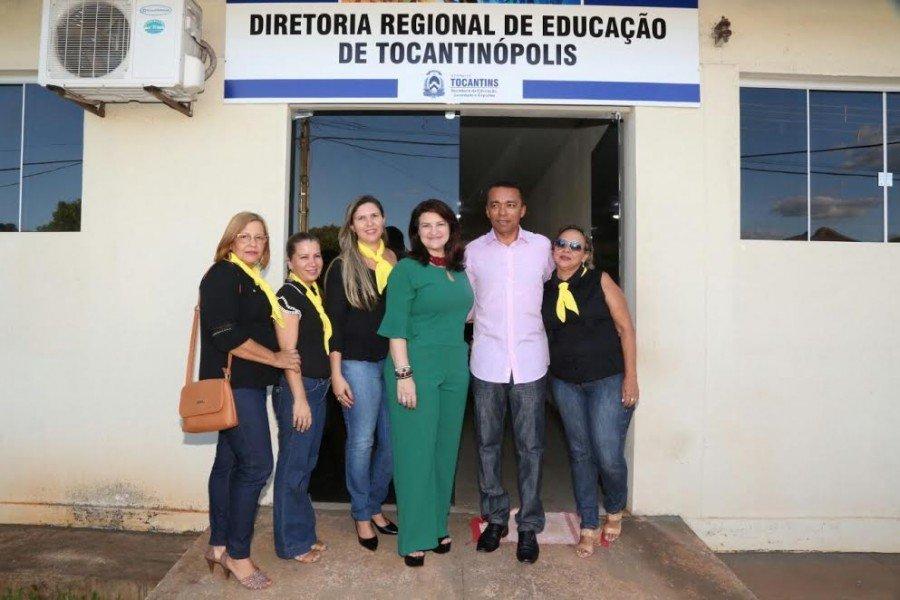 A visita à sede da DRE faz parte da agenda da equipe da seduc nas regionais de educação
