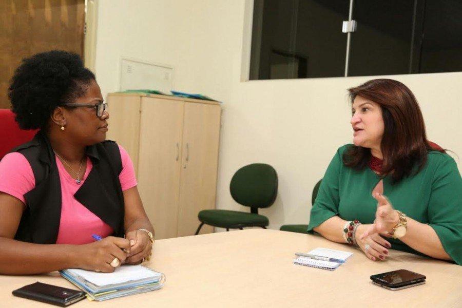 Durante o encontro, as gestoras discutiram possibilidades para o fortalecimento da educação na região