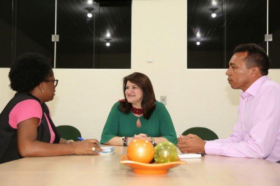A reunião foi realizada no gabinete da Diretoria Regional de Educação