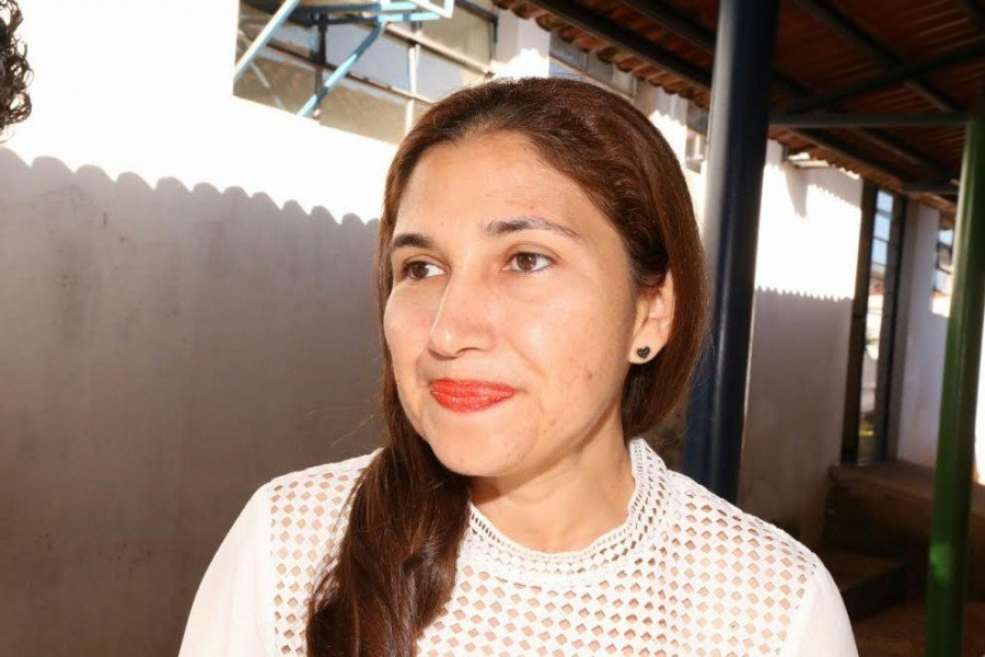 Vaneça ressaltou a importância do contato direto com o grupo gestor da Seduc