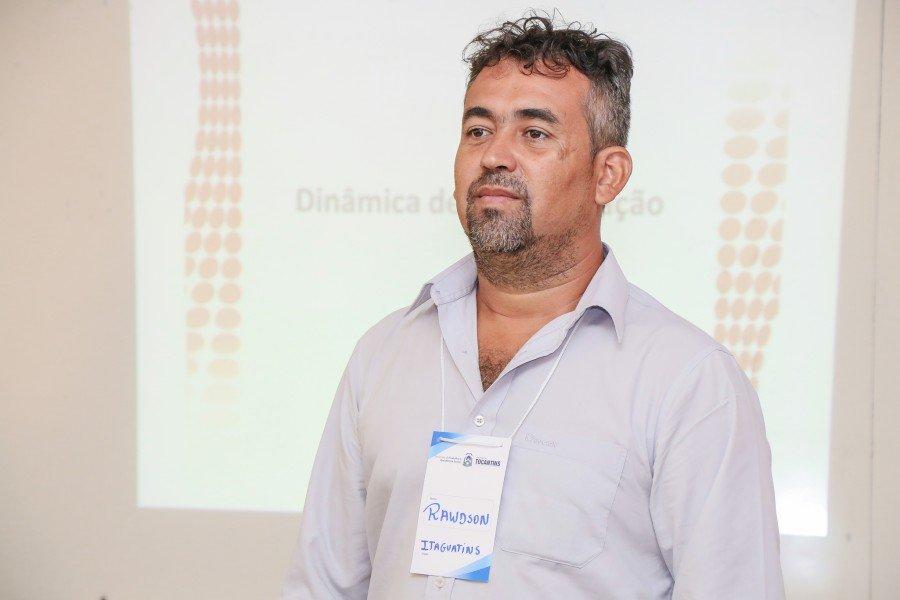 Gestor do Programa em Itaguatins acredita que estes conhecimentos facilitarão suas ações (Foto: Carlessandro Souza)