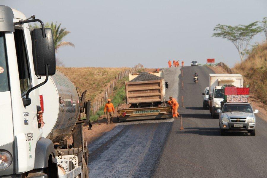 São mais 19,92 km que o Governo do Estado estima finalizar antes do período chuvoso que se aproxima