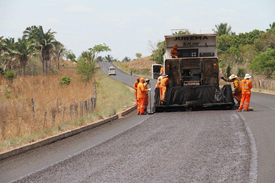 Reconstrução do pavimento asfáltico da TO-404 entre Araguatins a Augustinópolis